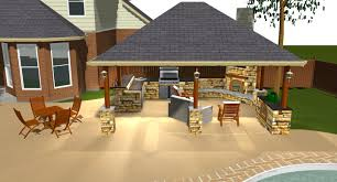Outdoor Covered Patio Pictures Covered Outdoor Kitchen Rustic Covered Outdoor Kitchen With Bar