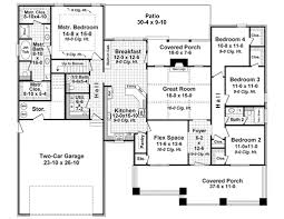 craftsman style house plan 4 beds 2 5 baths 2199 sq ft plan 21