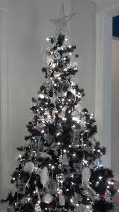 silver christmas trees u2013 happy holidays