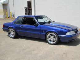 Black Fox Body Mustang Another Grabber Blue Fox Foxbody Mustangs Pinterest Foxes