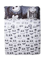 the nightmare before faces sheet set topic