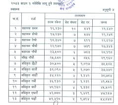 Medical Record Assistant Salary Level And Positions Of Health Cadres And Their Salary In Nepal