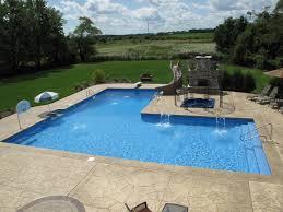 62 best l shaped pools images on pinterest backyard ideas bar