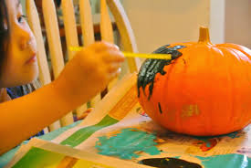 b is 4 black and teal halloween pumpkin crafts with ww linky party