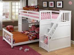 Bedroom Bunk Bed With Stair Bunk Stairs Twin Over Full Bunk - Stairway bunk bed twin over full