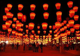 lunar new year lanterns lantern festival make a wish and getting lost in a