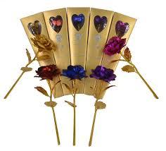 Golden Roses Aliexpress Com Buy 24k Gold Foil Plated Rose Wedding Decoration