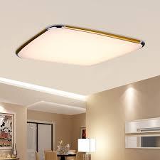 48w rgb led ceiling light flush mount dimmable living room hotel