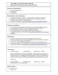Fitness Resume Sample by Curriculum Vitae Resume Template Generator Free Nursing Resumes