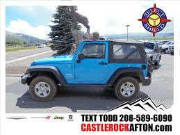 jeep wrangler 4 door blue used jeep wrangler under 20 000 in wyoming for sale used cars