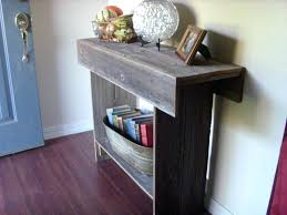 Narrow Entryway Table by Rustic Entryway Table U2013 Atelier Theater Com
