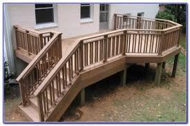 rustic deck railing pictures decks home decorating ideas