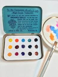 rare winsor newton bijou miniature box of artists moist water