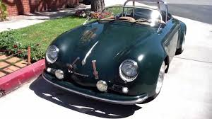 porsche speedster kit car 1956 porsche 356 speedster wide body tribute youtube