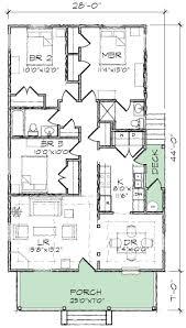 single storey bungalow floor plan one story bungalow house plans