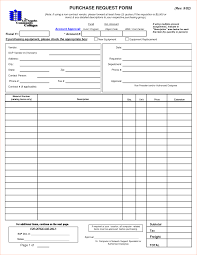 Service Request Template Excel 6 Purchase Request Form Template Procedure Template Sle