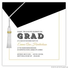 graduation cap invitations classic and modern graduation cap invitation graduation invitations