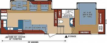 everest rv floor plans everest rv floor plans new new 2018 k z inc durango 2500 d315rkd