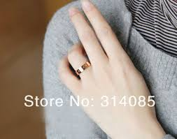 vintage love rings images Promotion wholesale 18k yellow gold plated love ring paris vintage jpg