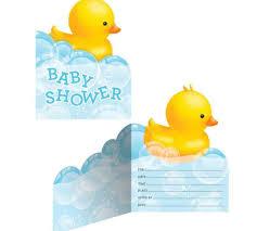 baby shower duck theme imposing baby shower duck invitations rubber boy theme invitation