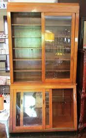china cabinet oak china cabinet and hutch upscale furniture