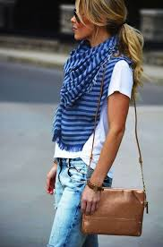 best looks completed with scarves 2017 fashiontasty com