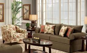 accent chairs for brown leather sofa chair red floral pattern beige fabric accent sofa chair brown