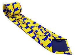 rubber duck necktie barney ducky tie at amazon men u0027s clothing store