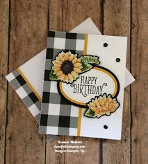 stampin up thanksgiving cards ideas stampin up painted autumn designer series paper and happy birthday