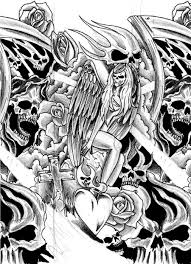 skull sleeve ideas cool tattoos bonbaden