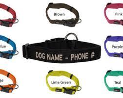 Comfortable Dog Collar Padded Dog Collar Etsy