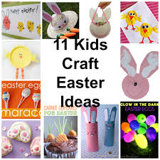 11 kids craft easter ideas kiddy crafty