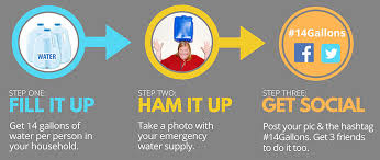 How To Do Challenge Water Oregonians Take The 14 Gallon Water Storage Challenge Local