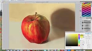 beginner digital painting tutorial apple tutorial grawvyrobber you