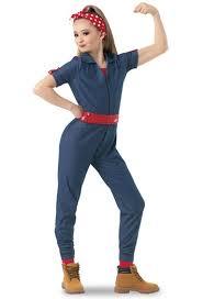 rosie the riveter costume weissman rosie the riveter character