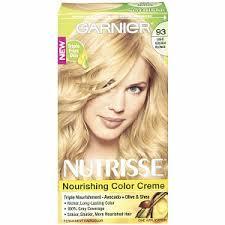 Garnier Nutrisse 93 Light Golden Blonde Honey Butter Haircolor