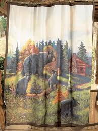 Adirondack Shower Curtain by Rustic Adirondack Shower Curtain Reclaimed Furniture Design Ideas