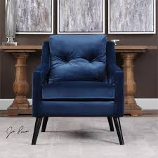 Navy Blue Leather Club Chair Open Arm Lounge Chair U2014 Navy Blue Scenario Home