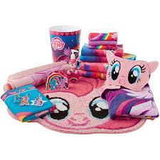 hasbro u0027s pony bathroom decor walmart