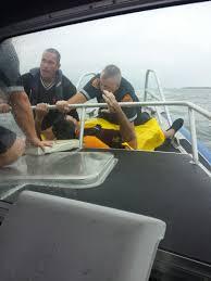 marine bureau missing kayaker rescued from island sound by the marine bureau