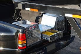 Ford F250 Truck Tool Box - unique truck accessories brute brite aluminum goose neck