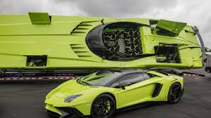 Lamborghini Aventador Sv Top Speed - one off aventador sv roadster comes with a matching speedboat