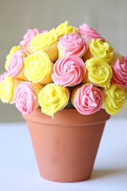 cupcake flowers flower cupcake bouquet food craft ideas