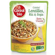 lentille cuisine lentilles riz soja céréal