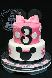 pink u0026 black minnie mouse birthday cake ph serts u0026 cakes