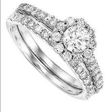 princess cut wedding set carat total weight princess cut halo wedding set