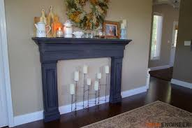 How To Build Fireplace Surround by Faux Fireplace Mantel Surround Rogue Engineer