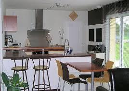 modele de cuisine ouverte sur salon modèle décoration cuisine ouverte sur salon