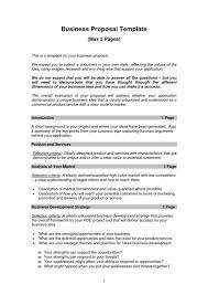 7 example letter for business proposal proposal template