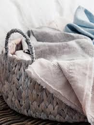 Grey Linen Bedding Saphyr Pure Linen Bedding Giveaway Sfgirlbybay